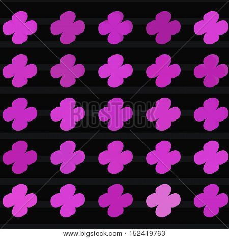 Abstract flower color style pattern vector illustration