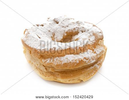 paris brest in front of white background