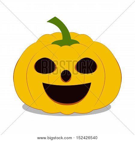 Halloween Pumpkin on white background, Halloween Pumpkin