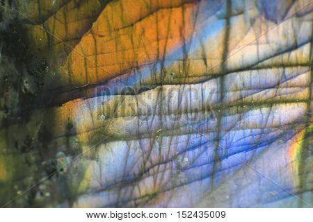 Labradorite Mineral Background