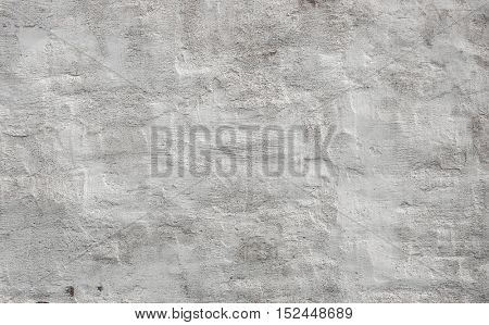 White concrete wall background texture with plaster