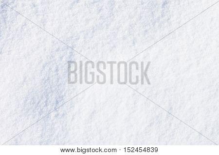 Texture of fresh fallen snow