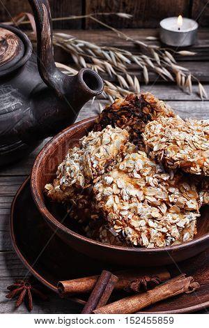 Autumn Oatmeal Cookies