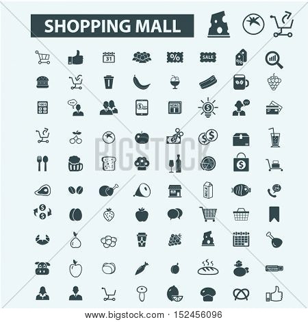 shopping mall icons