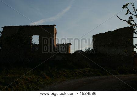 Ruins At Dusk