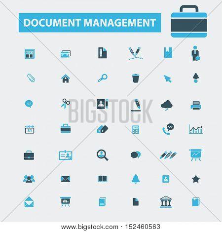 document management icons