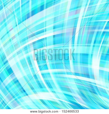 Shine Blue Glow Background. Wallpaper Pattern. Abstract Shapes.