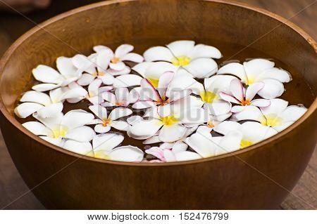 Spa massage and treatment Thailand select and soft focus