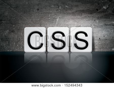 Css Tiled Letters Concept And Theme