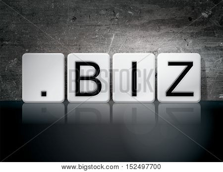 Dot Biz Tiled Letters Concept And Theme