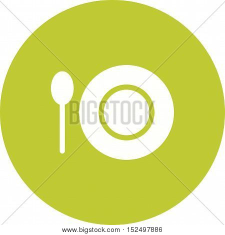 Food, meal, birthday icon vector image. Can also be used for birthday. Suitable for use on web apps, mobile apps and print media.
