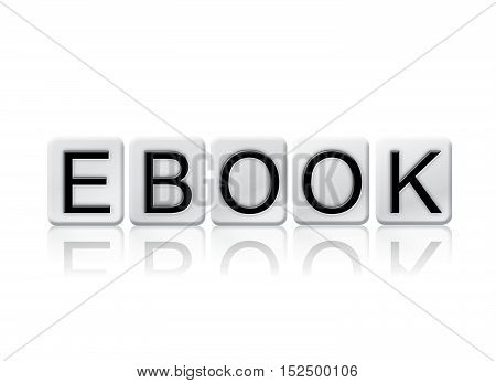 Ebook Isolated Tiled Letters Concept And Theme