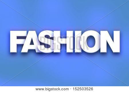 Fashion Concept Colorful Word Art