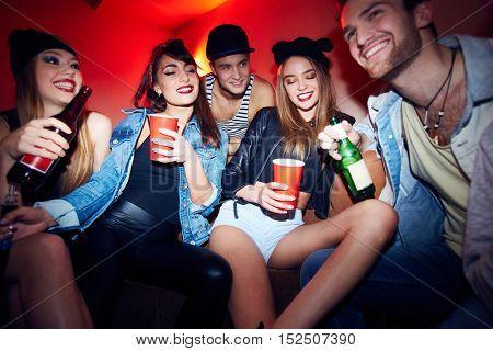 People Enjoying Amazing Party