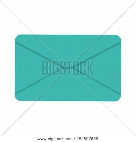 envelope letter paper isolated icon vector illustration design