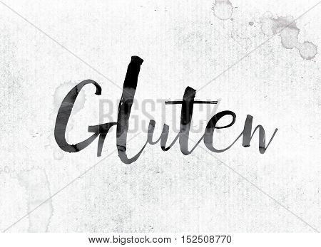 Gluten Concept Painted In Ink