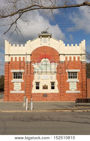 Soldiers Memorial Hall