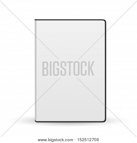Realistic Case for DVD Or CD Disk. Vector Illustration