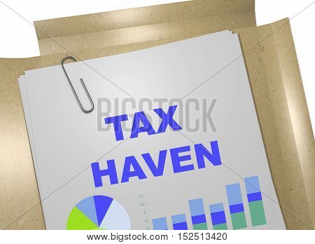 Tax Haven Concept