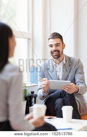 Discussion at break