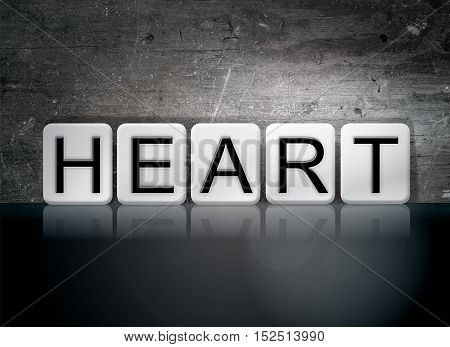 Heart Tiled Letters Concept And Theme