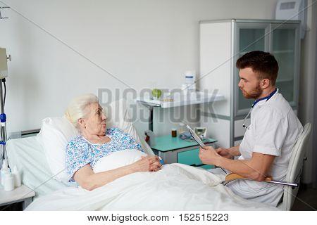 Listening to patient