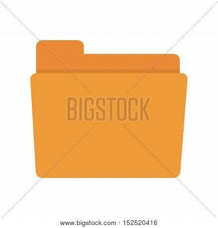 folder document isolated icon vector illustration design