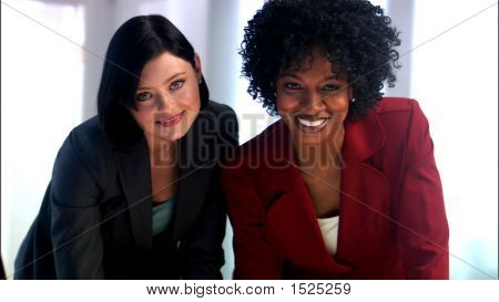 Two Female Executives