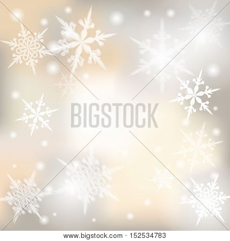 Christmas, New Year festive background for greeting cards. Vector illustration