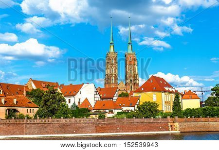 The Cathedral of St. John the Baptist in Wroclaw - Poland