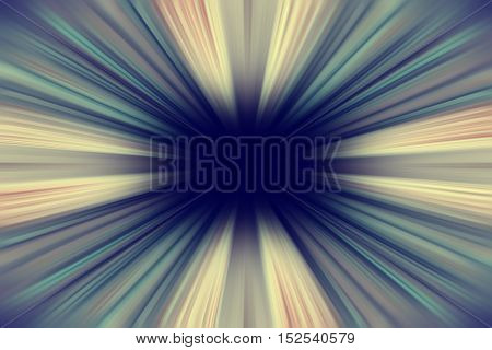 Retro yellow and green sunburst rays background