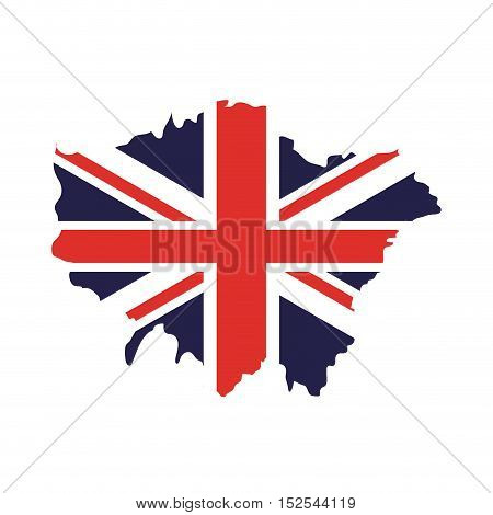 england map isolated icon vector illustration design
