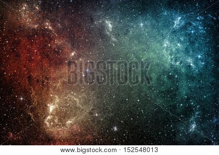 Galaxy stars. Universe nebula background