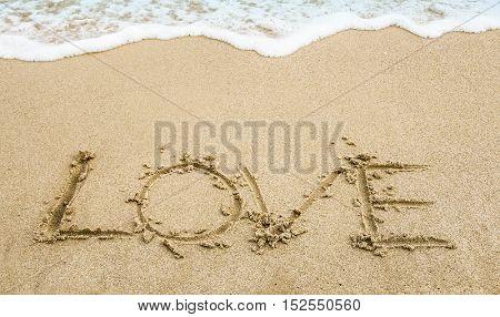 love in the beach
