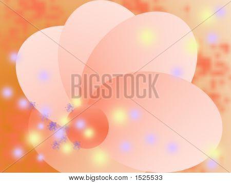 Illustration,Abstract Stylish Flower