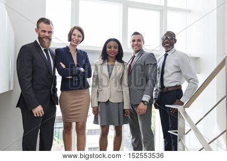 Business Team Office Worker Entrepreneur Concept