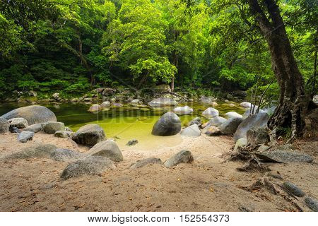 Mossman Gorge in Queensland's Daintree national park