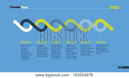 Timeline chart with circles and arrows. Element of presentation, layout, diagram. Concept for business templates, infographics, reports. Can be used for topics like analysis, strategy, workflow