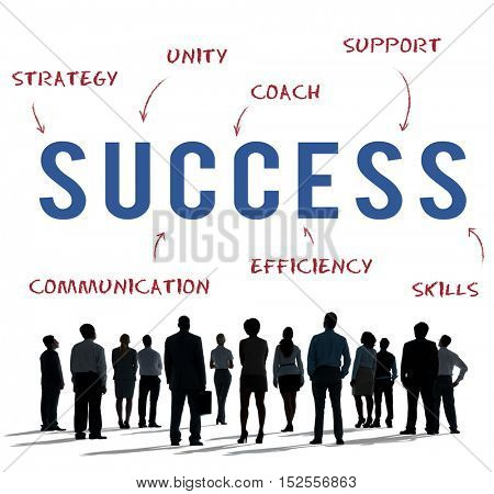 Success Business Company Strategy Marketing Concept