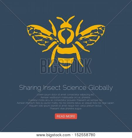 Vector logo and packaging design templates in trendy linear style - natural and farm honey concepts - labels and tags with bees.