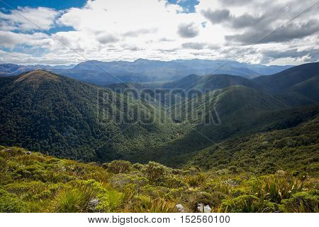 Mountains in Nelson, New Zealand, South Island