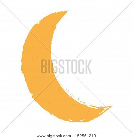 moon climate night isolated icon vector illustration design