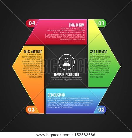Colorful infographic elements for your Business reports and presentation.