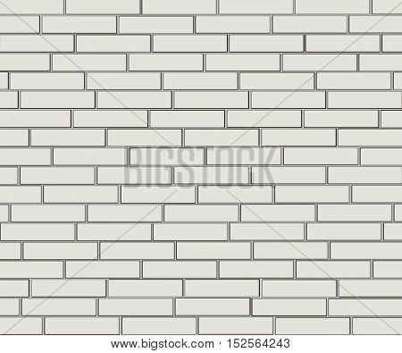 Background of gray and white brick. Wall of gray bricks