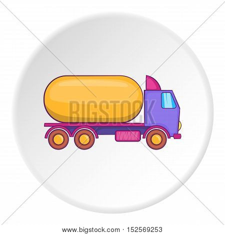 Tank truck icon. Flat illustration of Tank truck vector icon for web
