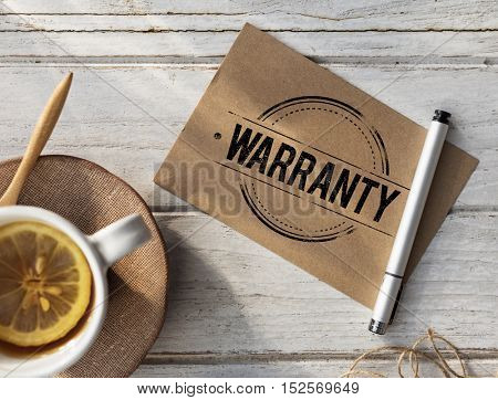 Warranty Genuine Excellence Guaranteed Concept