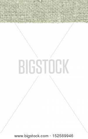 Textile backdrop, fabric space, green canvas, cover material close-up background