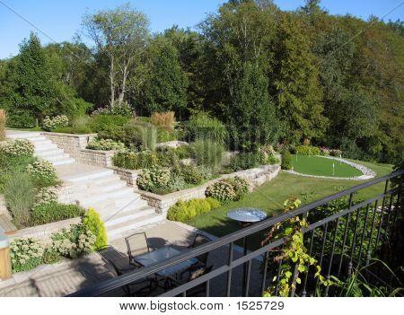 Beautiful Backyard Landscape
