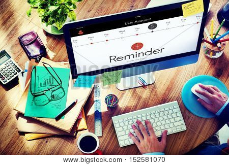 Reminder Appointment Calendar Events Concept