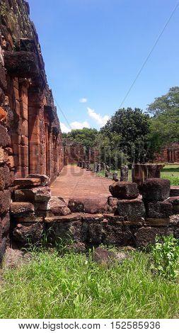 Ruinas de San Ignacio, Misiones (Argentina) Misión jesuitica